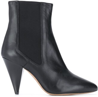 Isabel Marant Cone-Heel Pull-On Boots