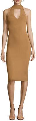Arc Rivy Choker Sheath Dress