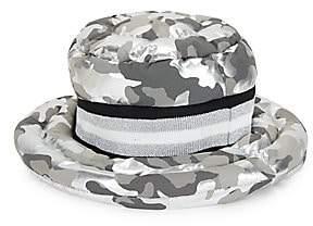 Think Royln Women's Urban Metallic Camo Puffer Bucket Hat