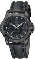 Luminox Men's Modern Mariner 6251.BO Leather Swiss Quartz Watch