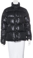 Moncler Metallic Puffer Jacket