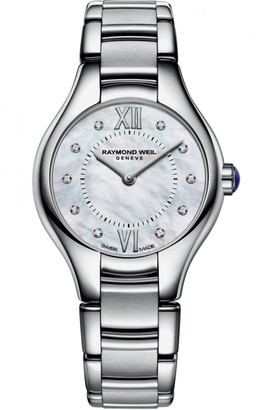 Raymond Weil Ladies Noemia 24mm Diamond Watch 5124-ST-00985