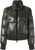 Moncler 'Iris' padded bomber jacket - women - Feather Down/Polyamide - 2
