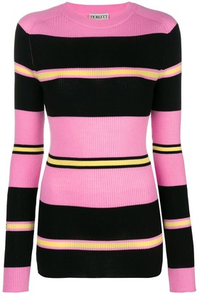 Fiorucci Striped Knitted Top