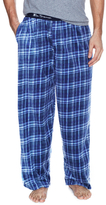 Ben Sherman Plaid Micro Fleece Sweatpants