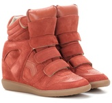 Etoile Isabel Marant Bekett leather and suede sneakers
