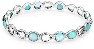Ippolita Rock Candy Sterling Silver & Multi-Stone All-Around Bangle Bracelet