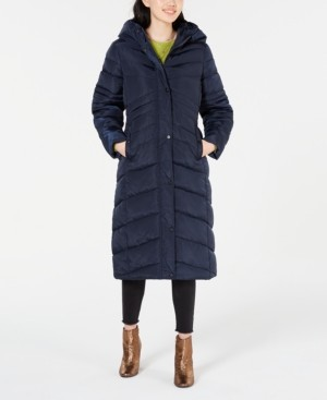 Madden-Girl Juniors' Hooded Maxi Coat