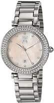 Jivago Women's JV5313 Parure Analog Display Quartz Silver Watch