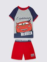 Marks and Spencer Pure Cotton Disney Car Short Pyjamas (1-7 Years)