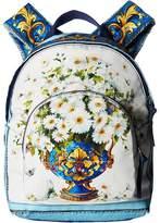 Dolce & Gabbana Floral Vase Backpack Backpack Bags