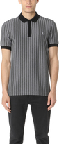 Fred Perry Pinstripe Pique Stripe Shirt