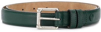 AMI Paris Square-Buckle Belt