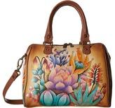 Anuschka 625 Zip Around Classic Satchel Handbags