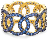 Freida Rothman Baroque Circle Link Ring
