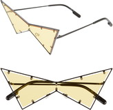 Kenzo 149mm Geometric Shield Sunglasses