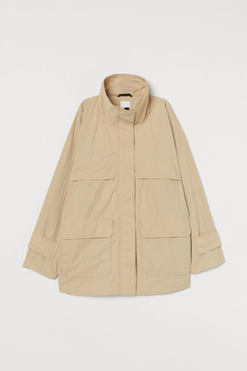H&M Short high-collared parka