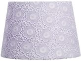 Pottery Barn Kids Lace Overlay Shade Lavender