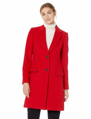 Lark & Ro Amazon Brand Women's Single Breasted Walker Coat