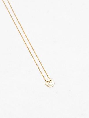 NATASHA SCHWEITZER Letter Necklace
