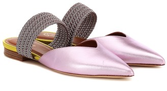 Malone Souliers Maisie leather slippers