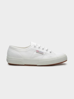 Superga Unisex 2750 Cotu Classic Sneaker in White Canvas
