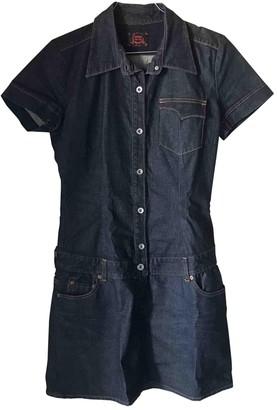 Evisu Blue Denim - Jeans Dress for Women