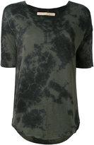 Raquel Allegra tie dye T-shirt - women - Cotton/Polyester - 2