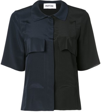 PARTOW Two-Tone Shirt