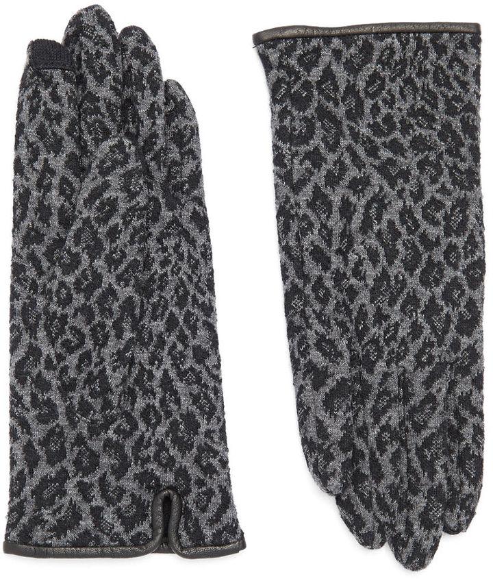 Echo Cheetah Print Gloves