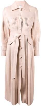 Huishan Zhang Rosie pleated midi dress