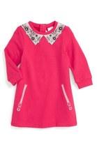 Little Marc Jacobs 'Essential' Graphic Jersey Sweatshirt Dress (Toddler Girls)