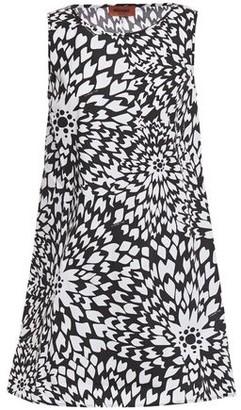 Missoni Floral-print Cotton-poplin Mini Dress