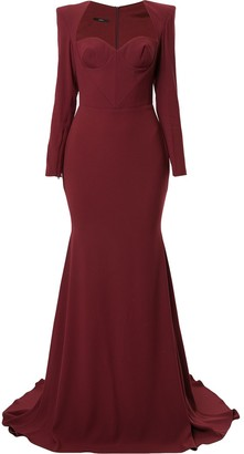 Alex Perry Ainsley gown