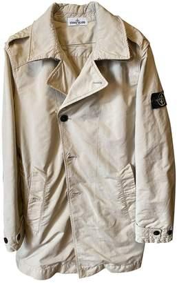 Stone Island Beige Polyester Coats