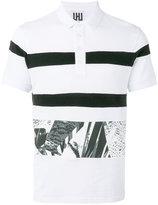 Les Hommes printed trim polo shirt - men - Cotton - L