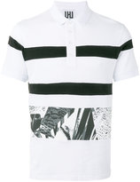 Les Hommes printed trim polo shirt - men - Cotton - M