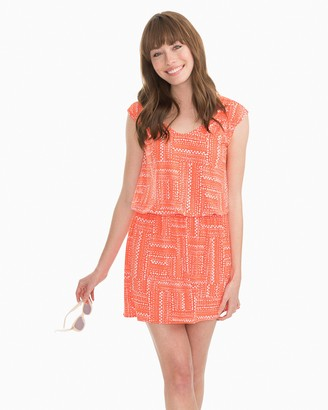 Southern Tide Gameday Drop Waist Dress