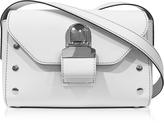 MM6 Maison Martin Margiela White Leather Shoulder Bag