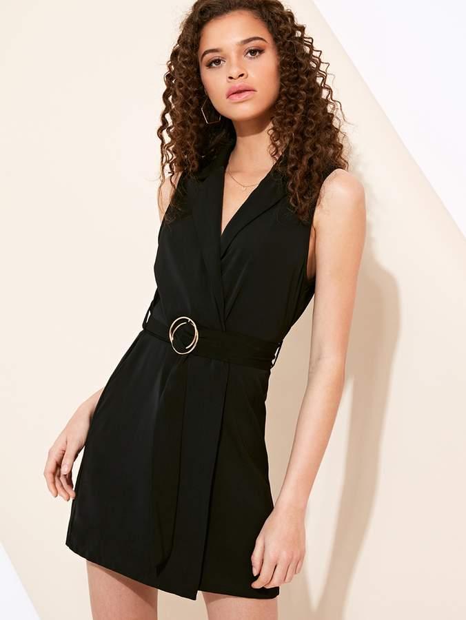 fea05d87f3b Sleeveless Blazer Dress - ShopStyle