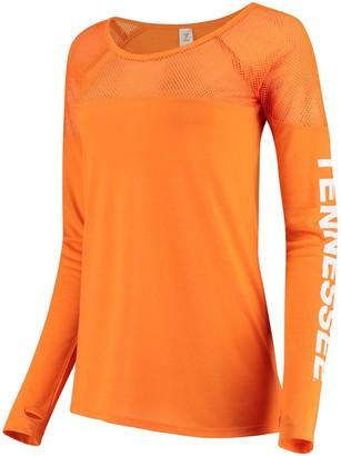 Women's ZooZatz Tennessee Orange Tennessee Volunteers Kickoff Long Sleeve Mesh T-Shirt