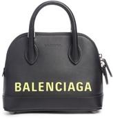 Balenciaga Extra Small Ville AJ Calfskin Top Handle Dome Satchel