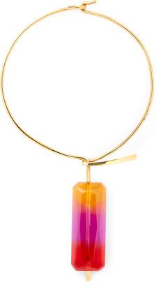 Ralph Lauren Gradient Pendulum Necklace
