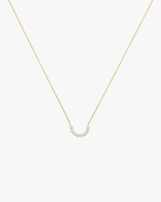 Legend Amrapali Tarakini Diamond Curved Bar Pendant Necklace