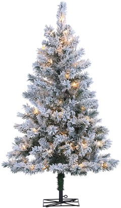 Sterling 4-ft. Flocked Colorado Spruce Artificial Christmas Tree