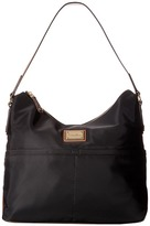 Calvin Klein Teodora Nylon Hobo Hobo Handbags