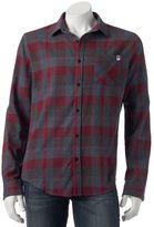DC Men's Shoe Co Highland Plaid Button-Down Shirt