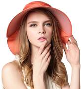 Aiyuda Women's Sun Hat with Neck Flap Driving UPF 50 Quick Dry Summer Large Brim Visor Cap