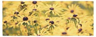 Pantone East Urban Home Debbra Obertanec Flower Daisy Bed Runner East Urban Home