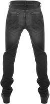 Edwin ED80 Regular Tapered Jeans Black